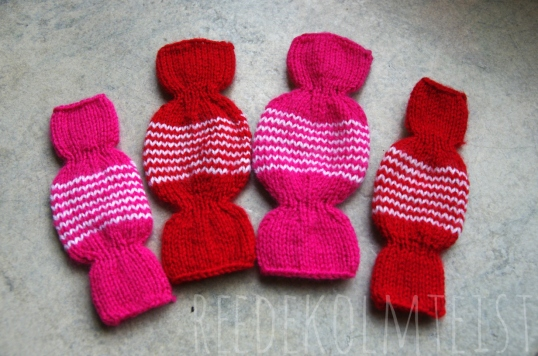 Knitted Christmas Candy