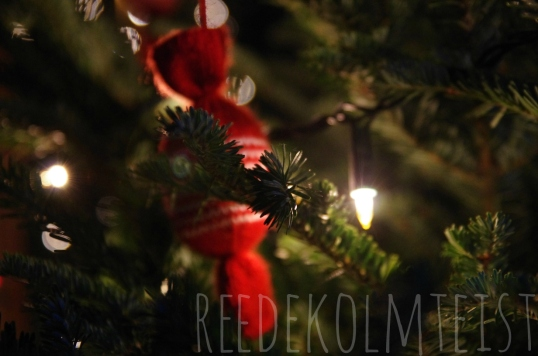 Knitted Christmas Candy, reedekolmteist